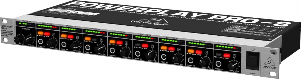 POWERPLAY PRO-8 HA8000 BEHRINGER