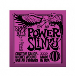 ENCORDOAMENTO GUITARRA ERNIE BALL 011.048 POWER SLINKY