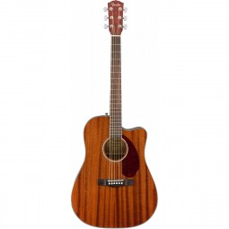 Violão Fender CD-140 Aço All Mahogany Com Hard Case