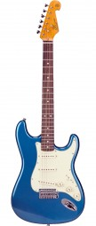 GUITARRA STRATOCASTER SX VINTAGE SST62 AZUL ESCALA ROSEWOOD