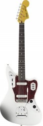 GUITARRA JAGUAR FENDER SQUIER VINTAGE MODIFIED OLYMPIC WHITE