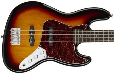 BAIXO FENDER SQUIER VINTAGE MODIFIED SUNBURST