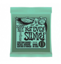 ENCORDOAMENTO GUITARRA ERNIE BALL 012.056 NOT EVEN SLINKY