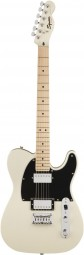 GUITARRA TELECASTER FENDER SQUIER CONTEMPORARY HH MN PEARL WHITE